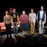 """""""The Gene Pool"""" curtain call at Annex Theatre, Capitol Hill, Seattle"""