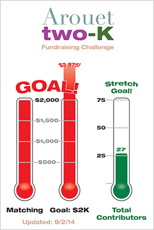 2K Fundraising Challenge Stretch Goal