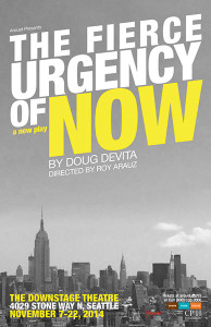 Poster The Fierce Urgency of Now