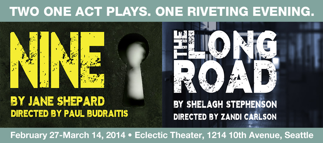Two One Act Plays. One Riveting Evening.